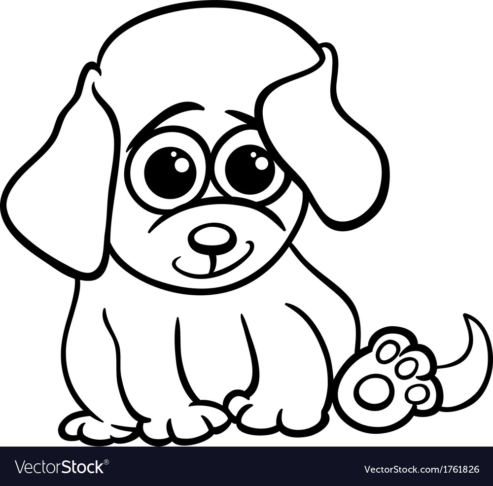 Free Black And White Puppy Pictures, Download Free Clip Art, Free ... | 986x1000
