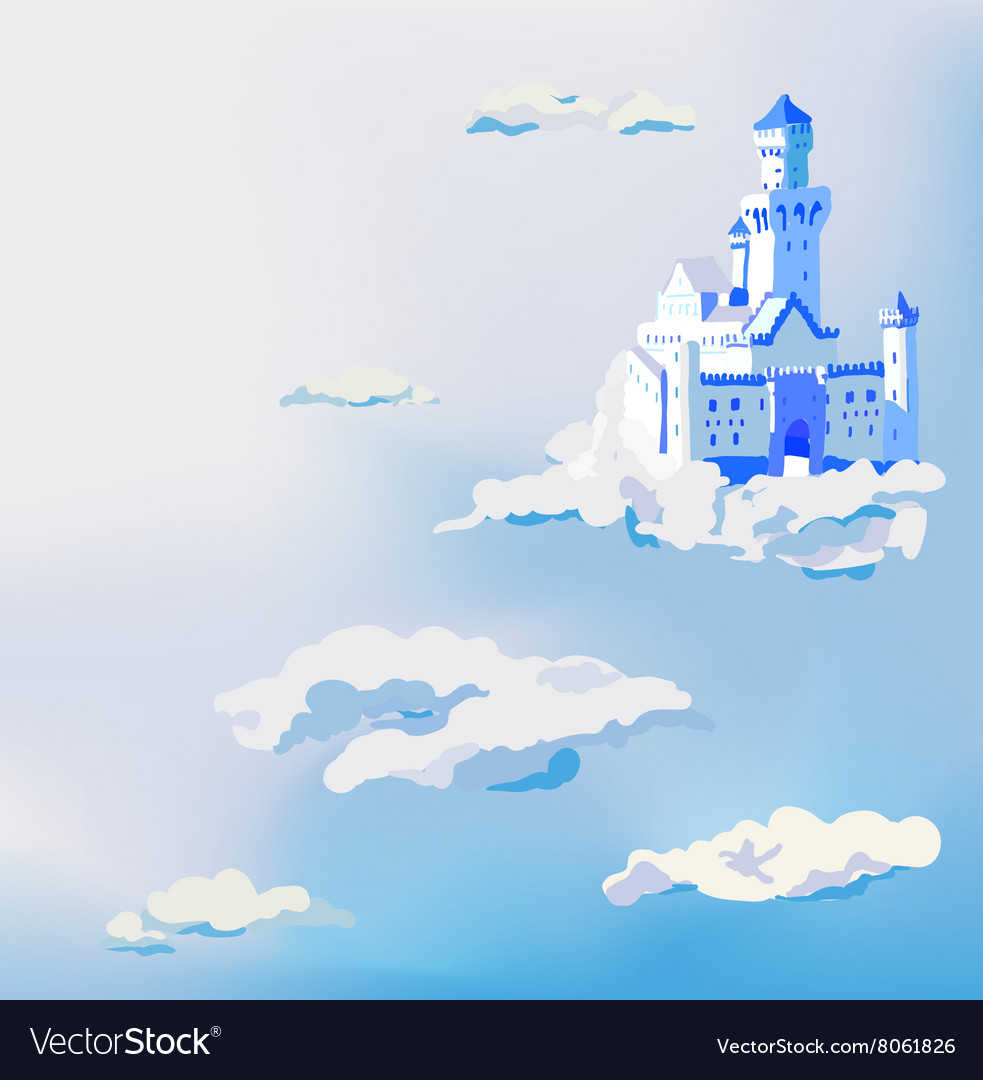 Castle in the clouds Dream sky palace