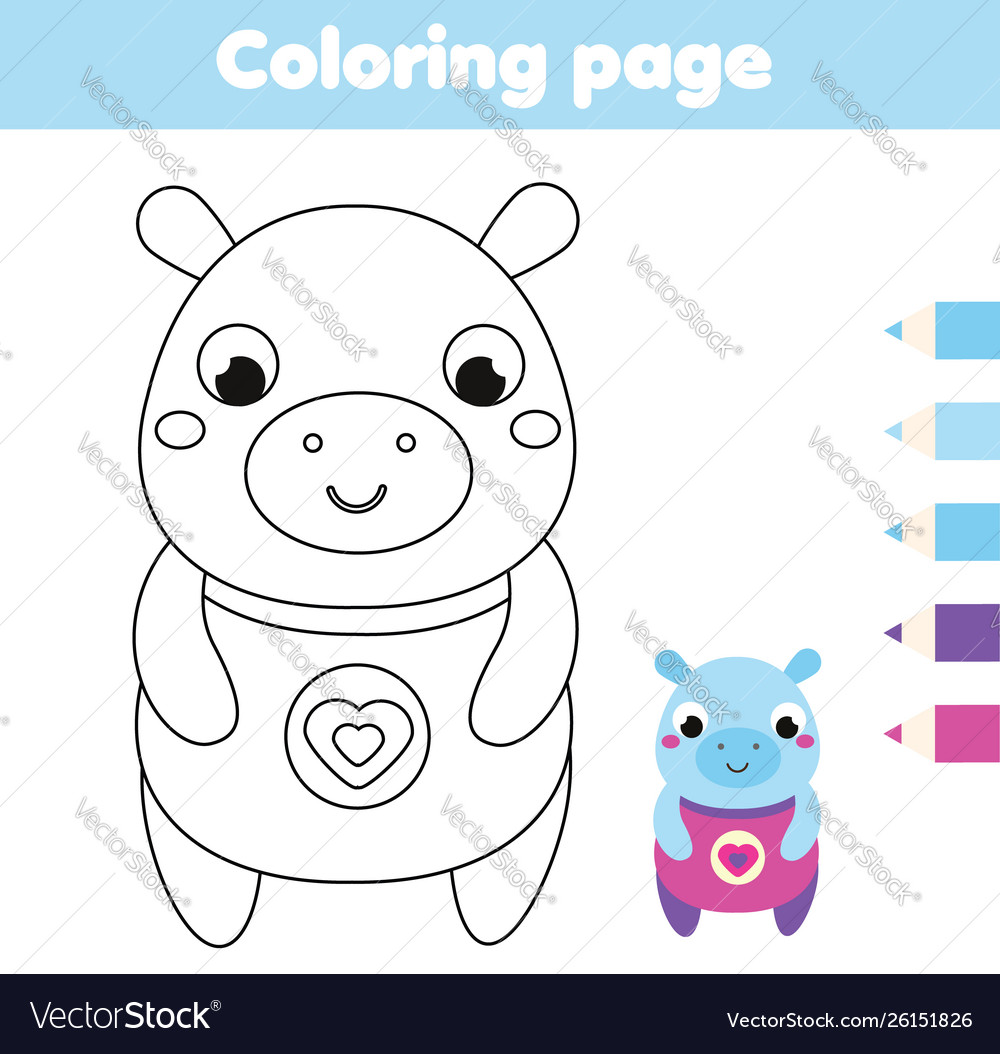 Pictures Of Hippos - Coloring Home   1054x1000