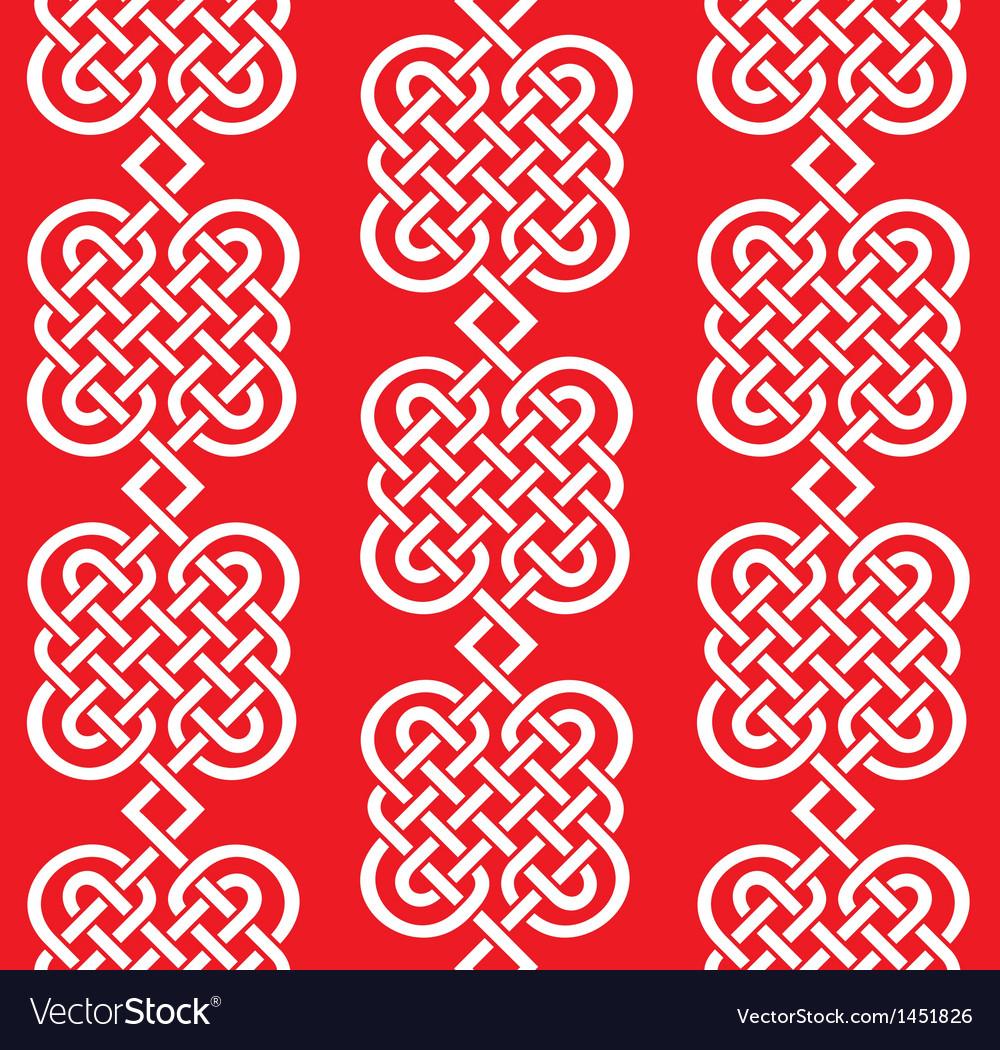 Seamless weaving of line pattern