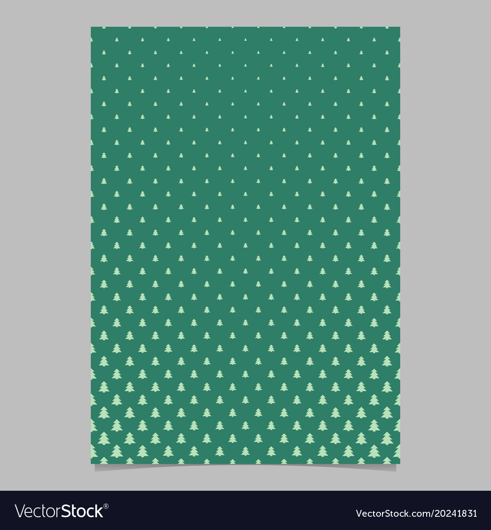 Pine tree pattern page backgeround design