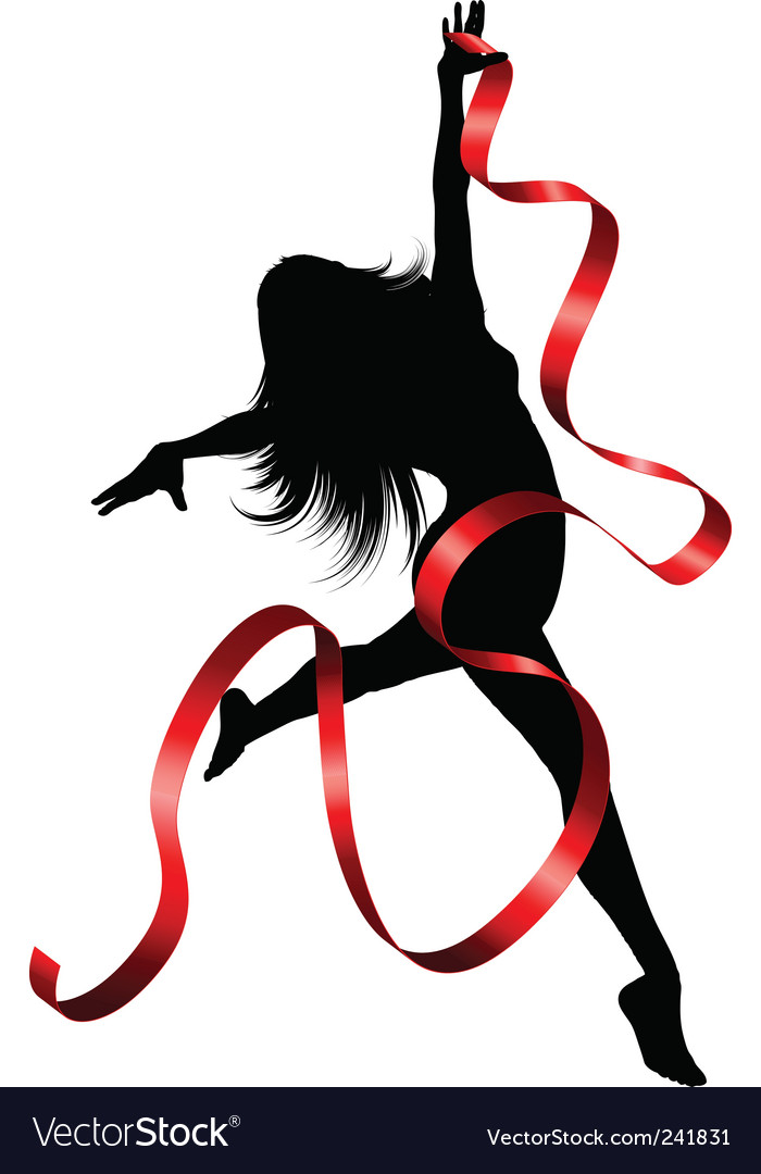 Ribbon dancer