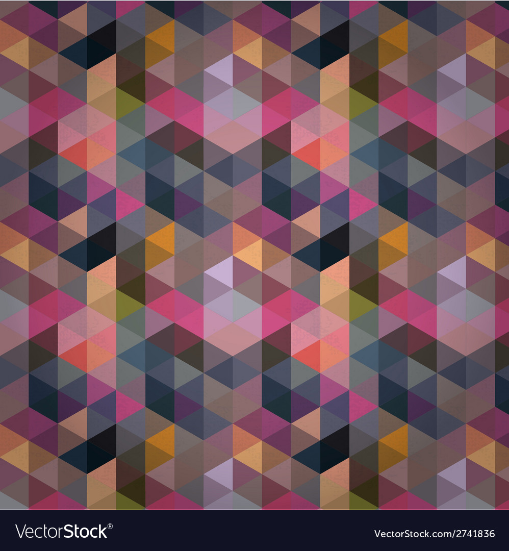 Triangle Background Pattern Texture vector image