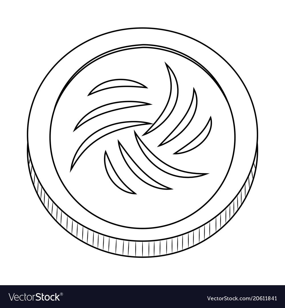 Abstract virtual coin