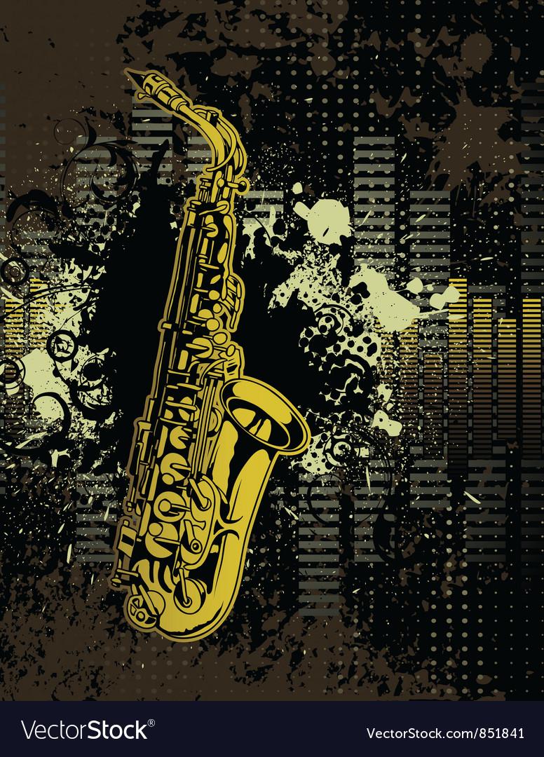 Concert banner vector image