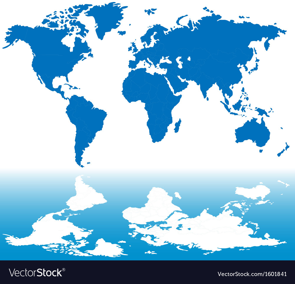 Stylized world map royalty free vector image vectorstock stylized world map vector image gumiabroncs Image collections