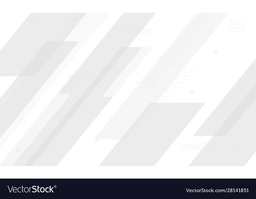White geometric background dynamic shapes