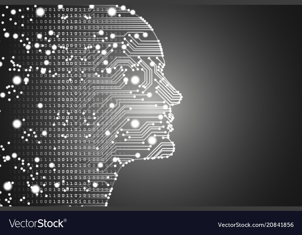 Big data and artificial intelligence concept