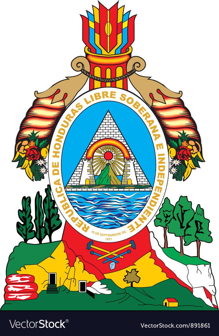 Honduras vector image