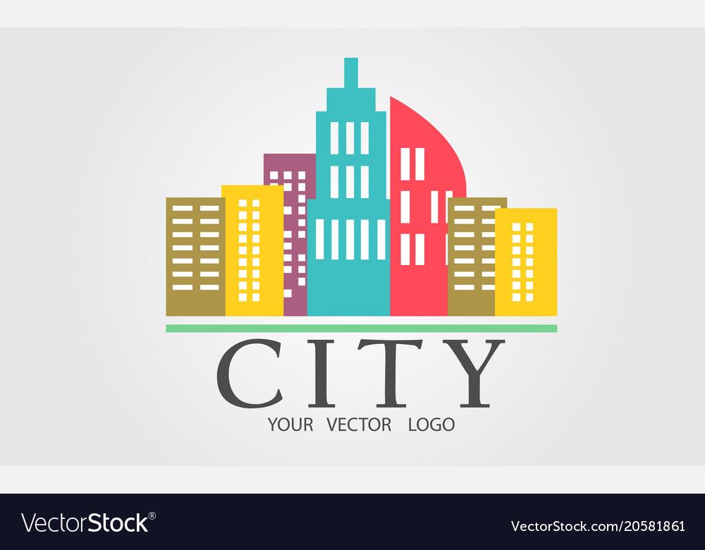 Logo of a color city