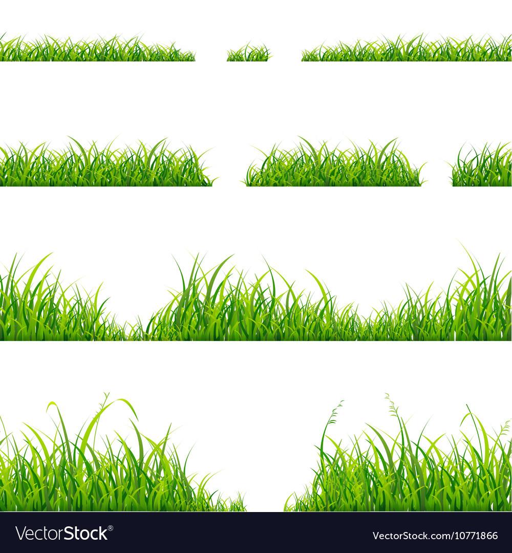 Green Grass Line Set