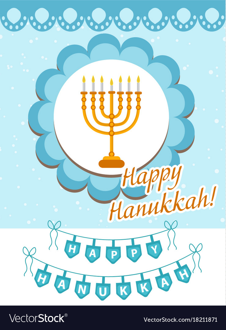 Appropriate Hanukkah Greeting Choice Image Greetings Card Design