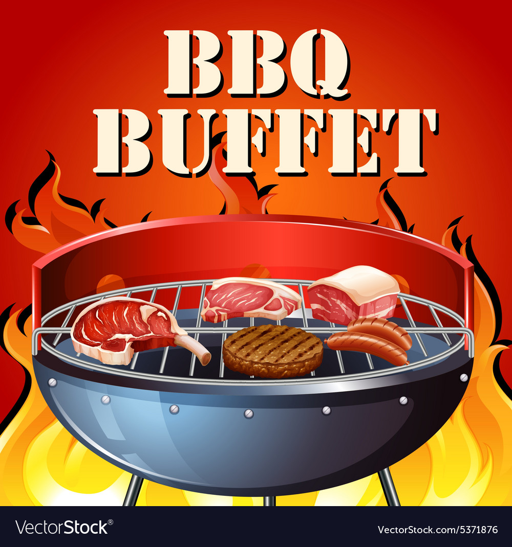 Buffet vector image
