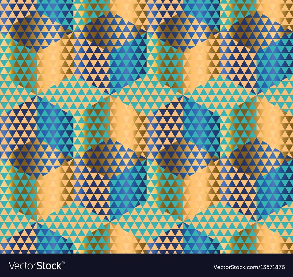 Geometry motif in luxury style seamless pattern