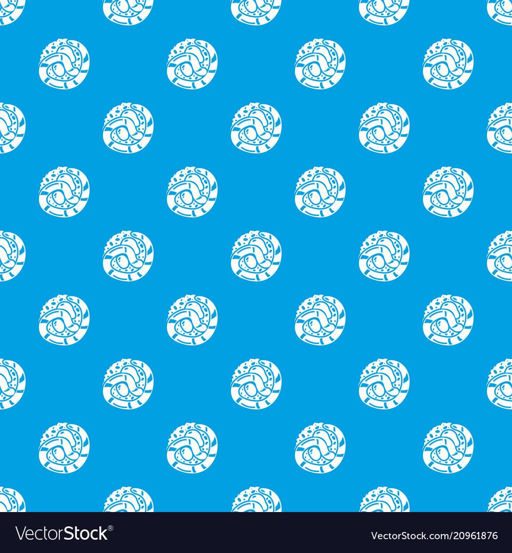 Sushi japan pattern seamless blue