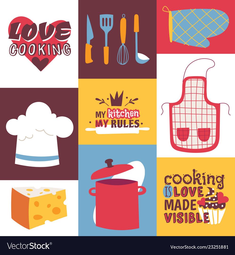 Cooking utensils cooking