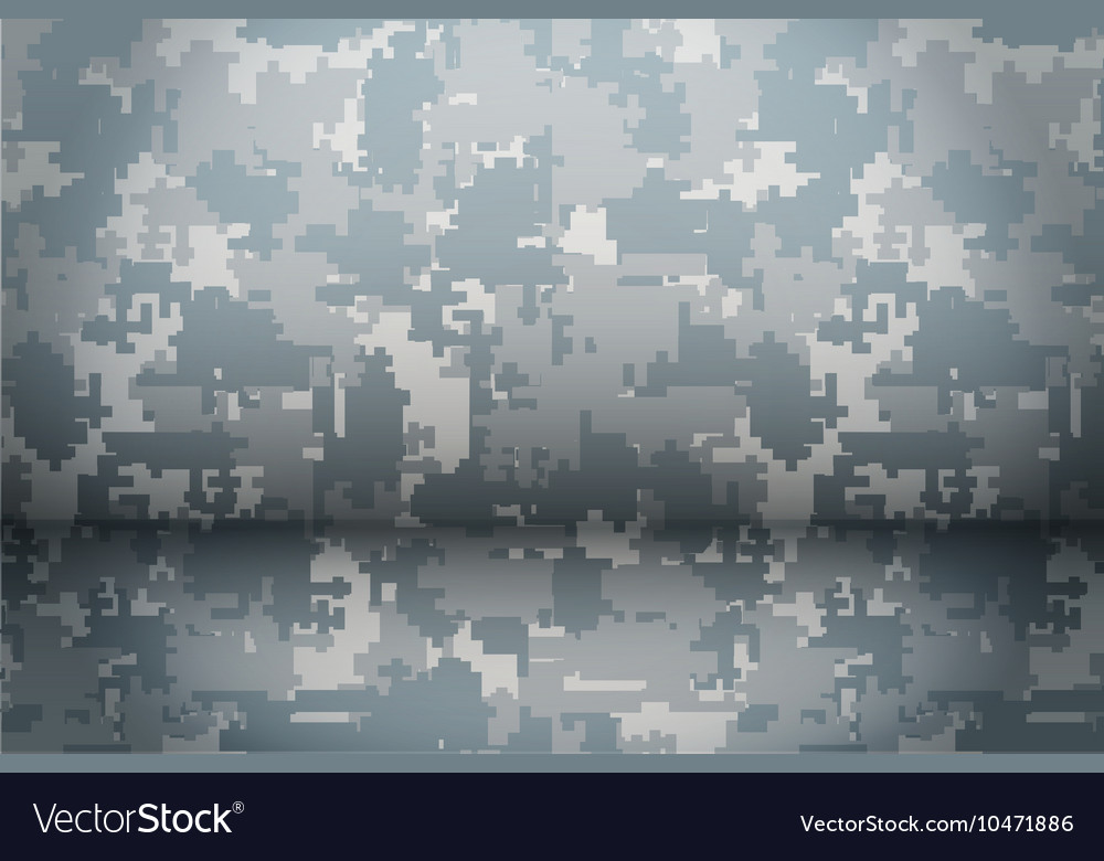 Digital Camouflage background vector image
