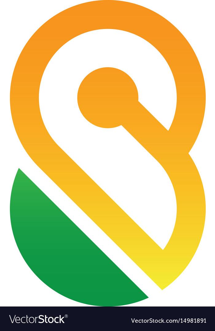 Infinity concept symbol icon or logo