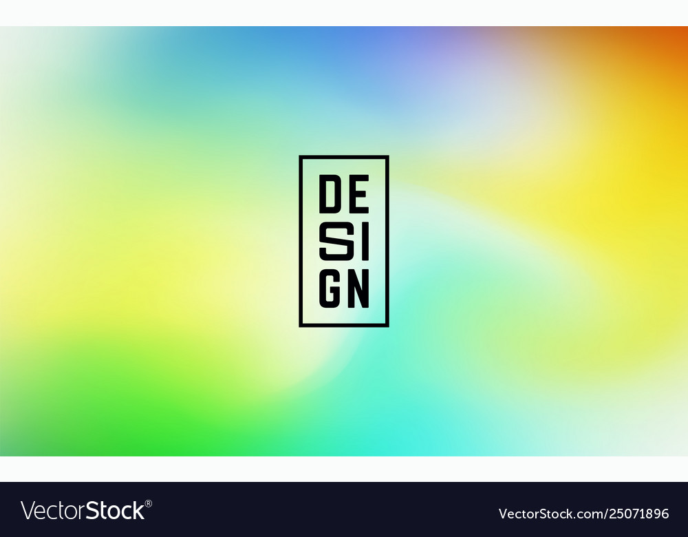 Fluid colorful shapes composition trendy mesh