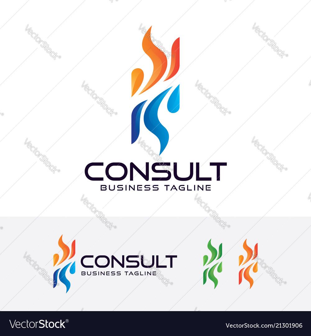 Consulting logo design
