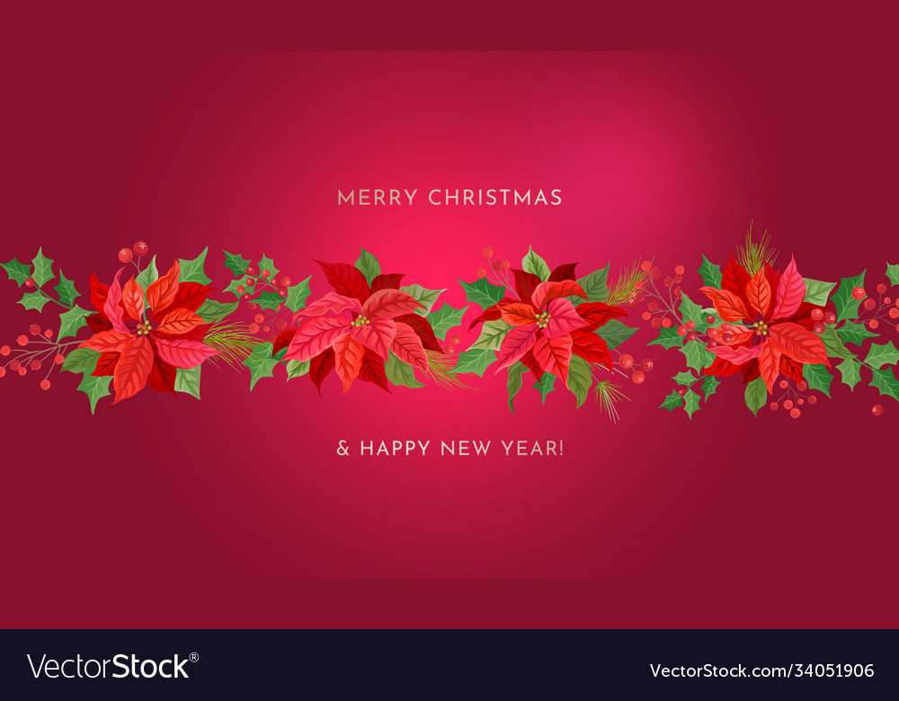 Merry christmas happy new year background