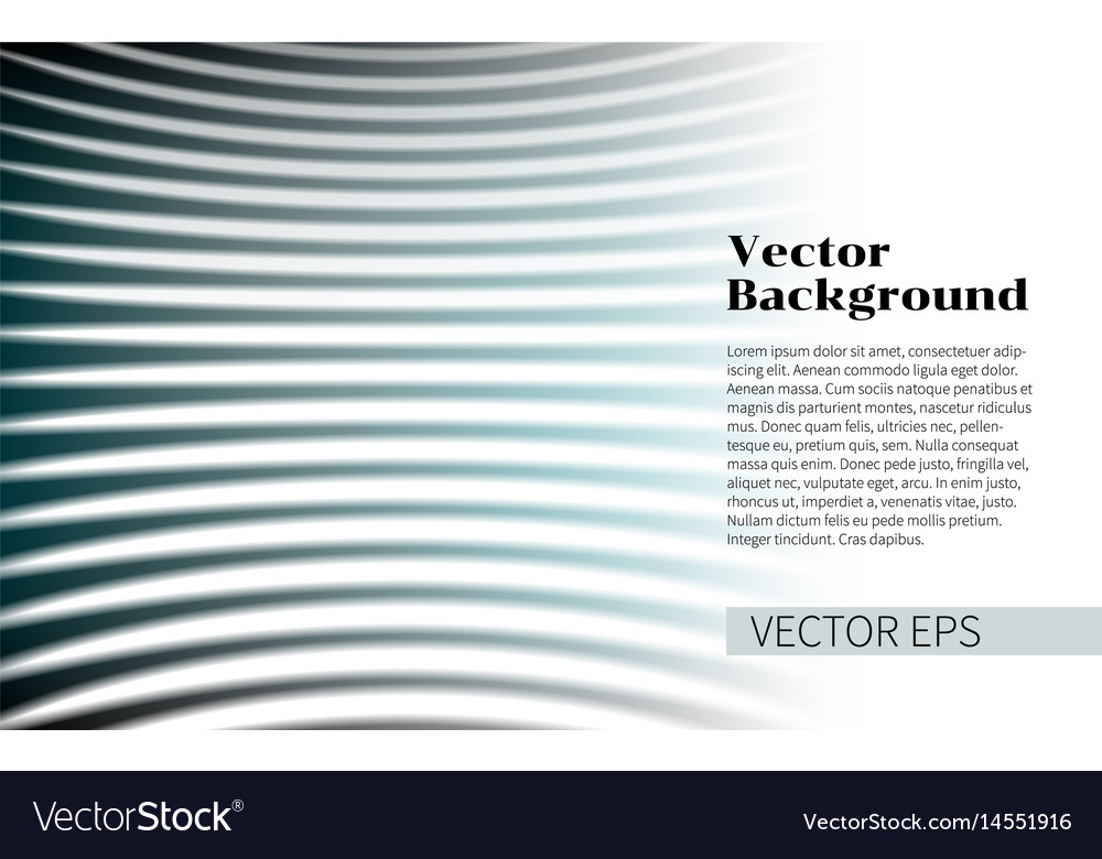 Abstract wave design elements