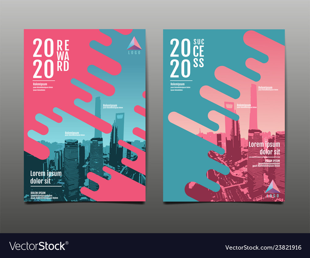 Annual report 2020 future business template