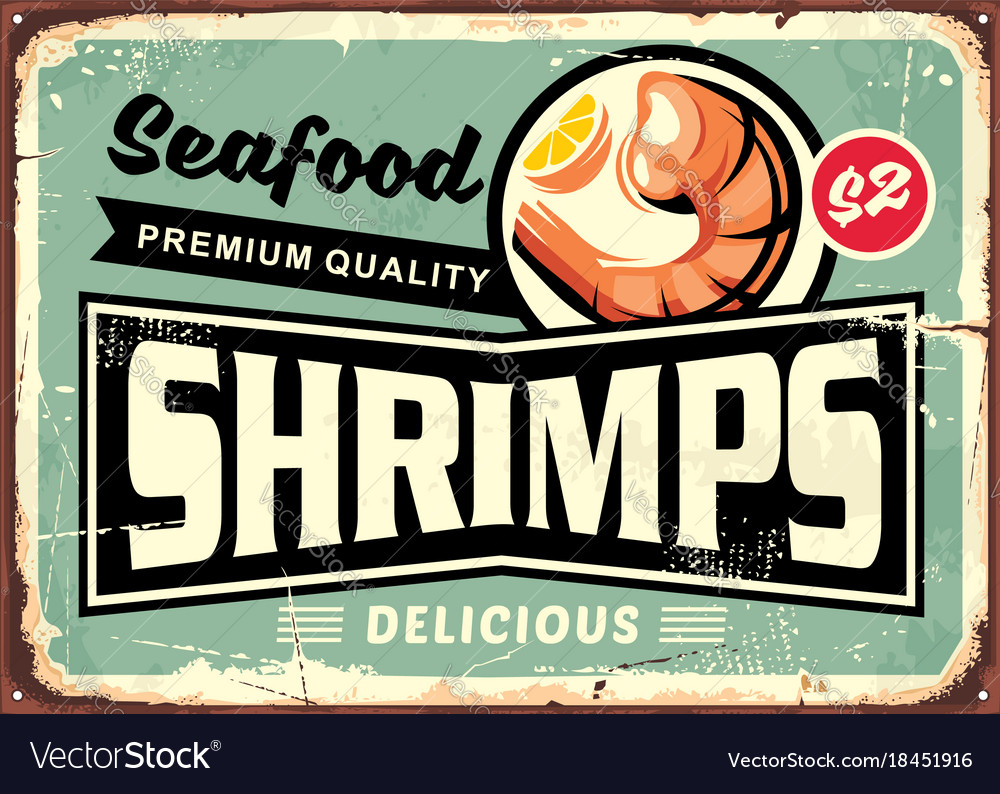 seafood restaurant menu sign design with delicious