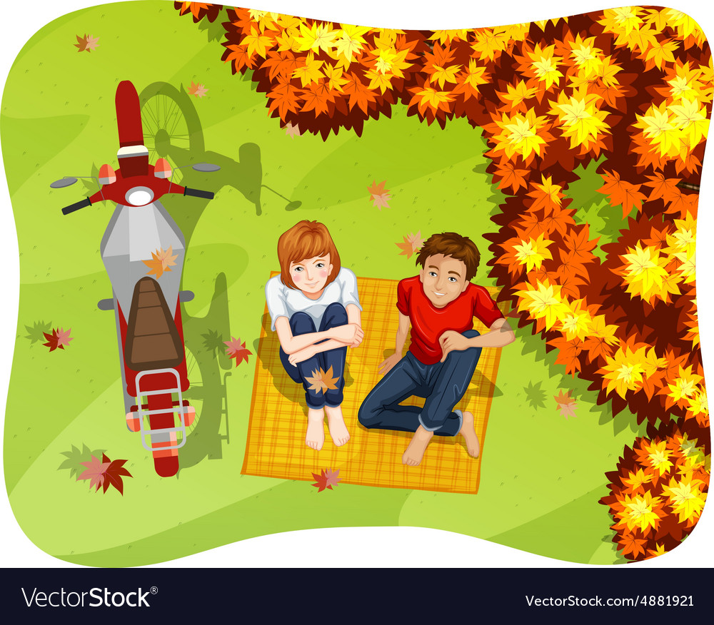 Lifestyle vector image