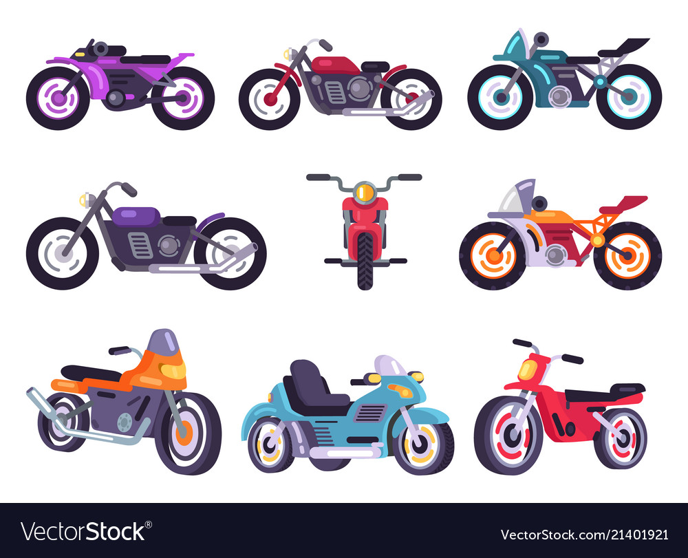 Motorbikes classical collection