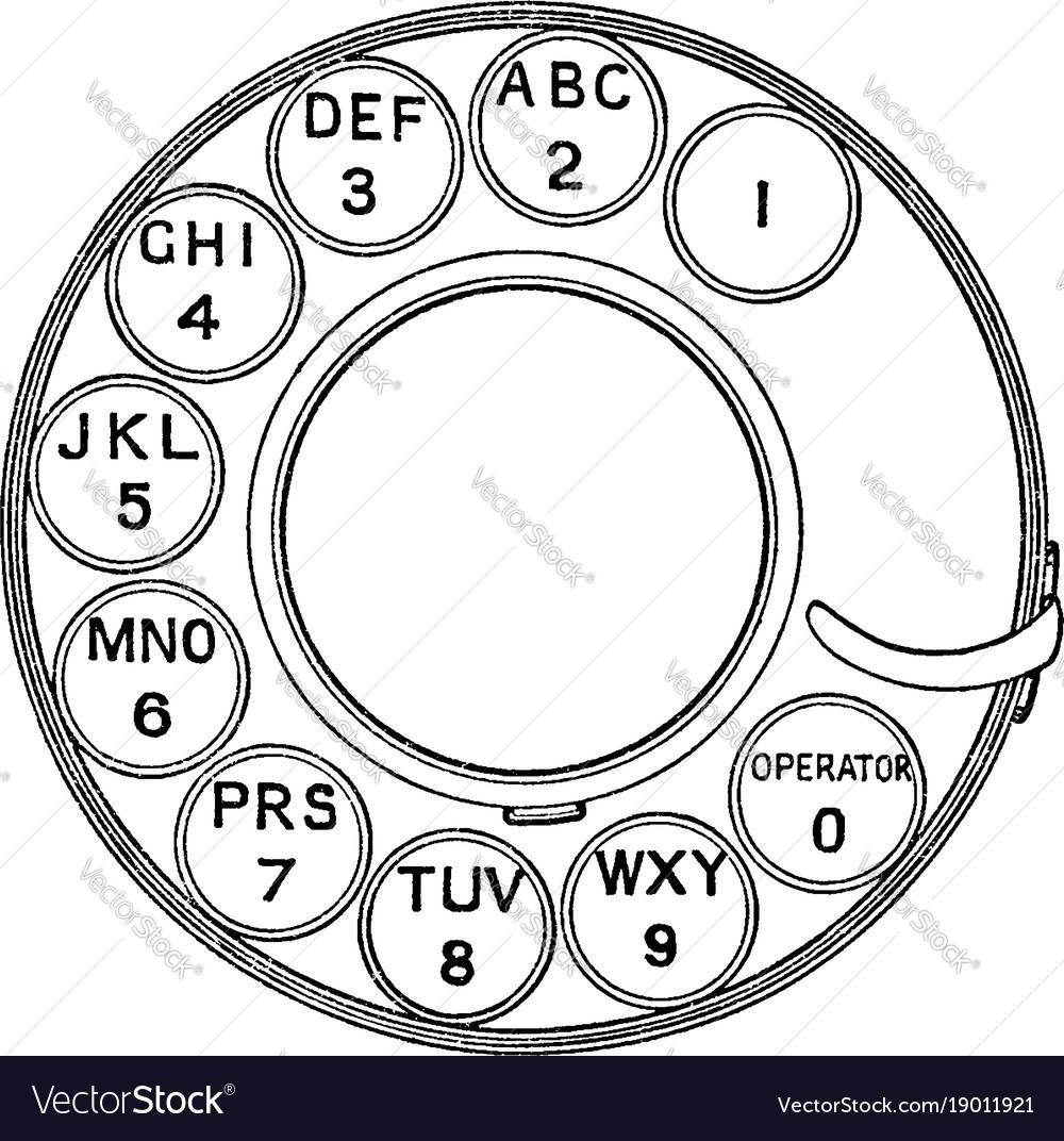 telephone dial - Isken kaptanband co