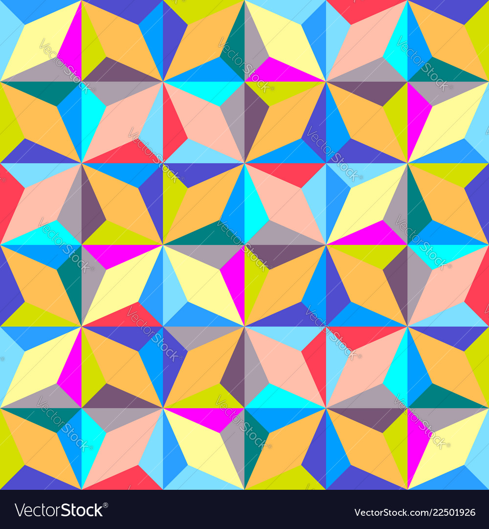 Modern abstract geometric background seamless