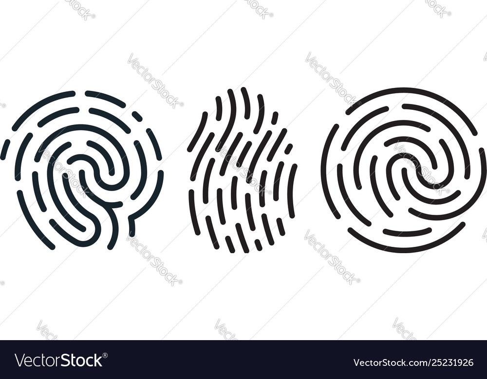 Set fingerprint icons