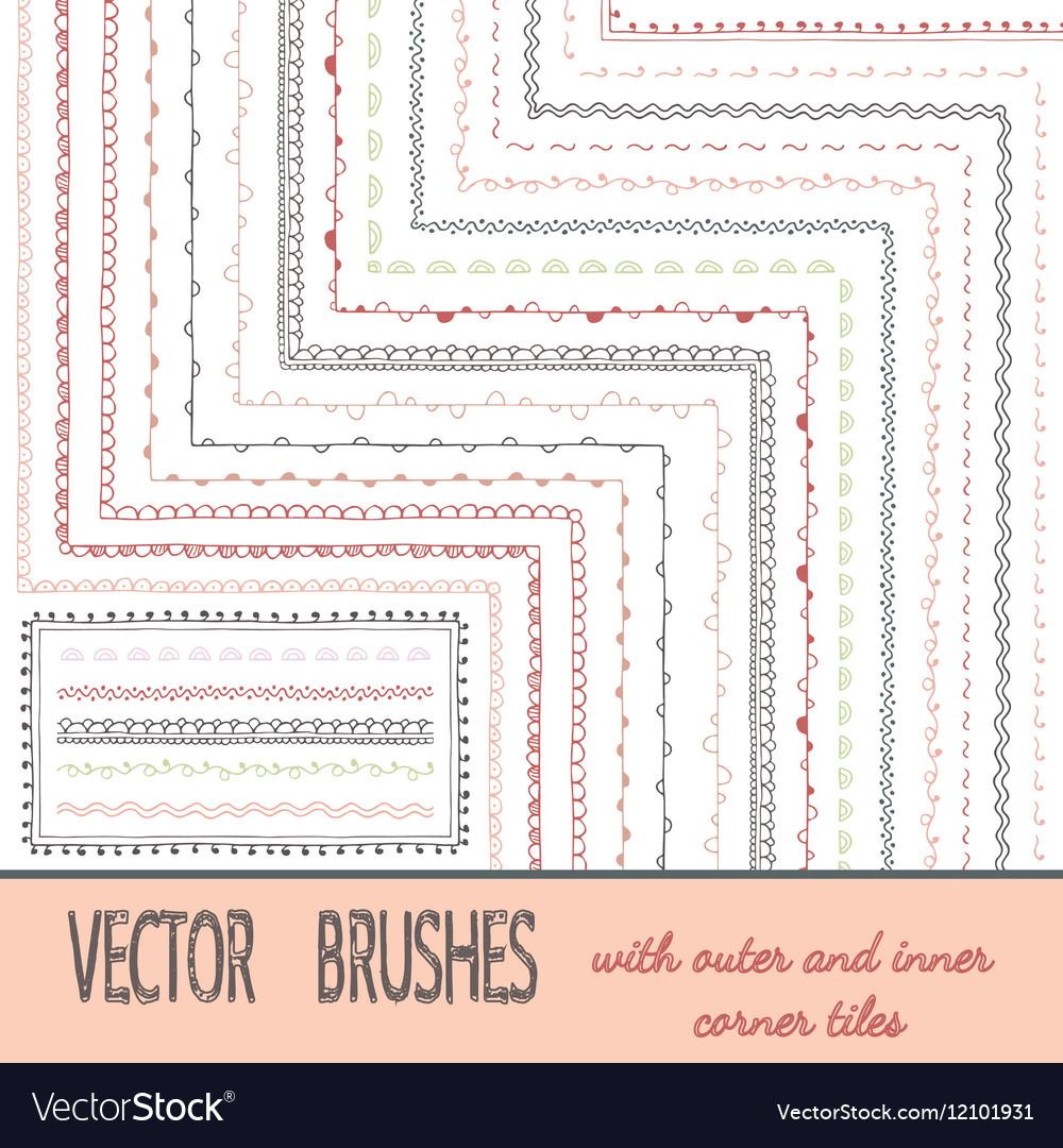 Doodle Geometric Brushes