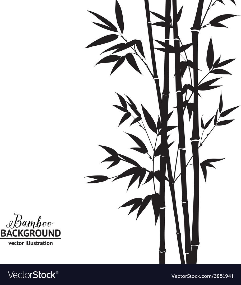 bamboo bush royalty free vector image vectorstock vectorstock