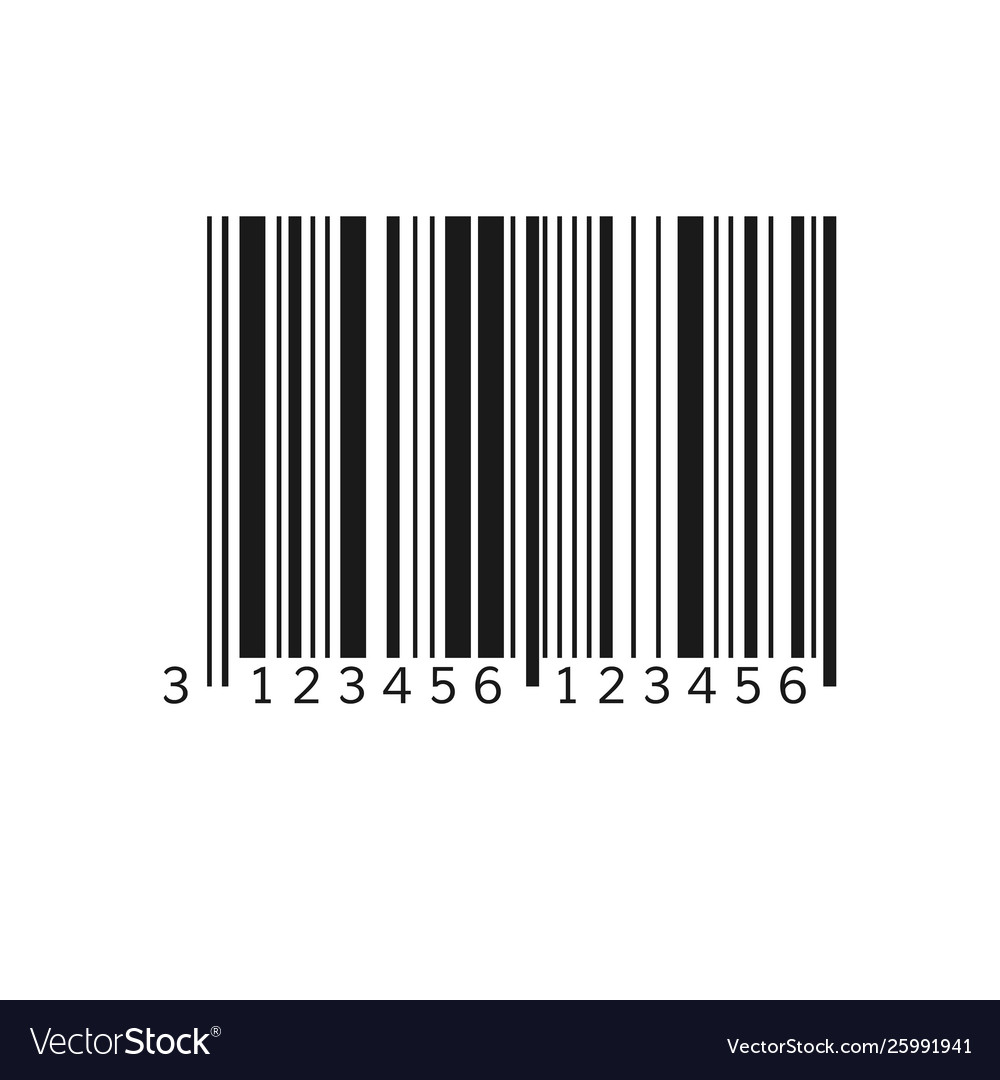 Unique bar code striped identification