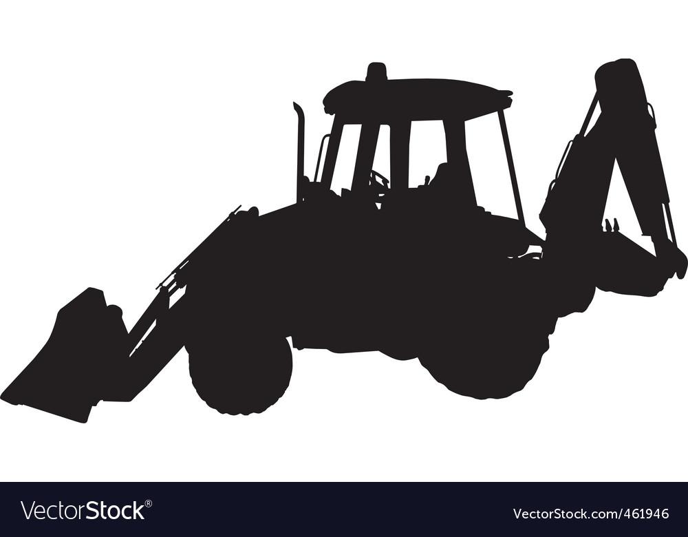 Digger vector image