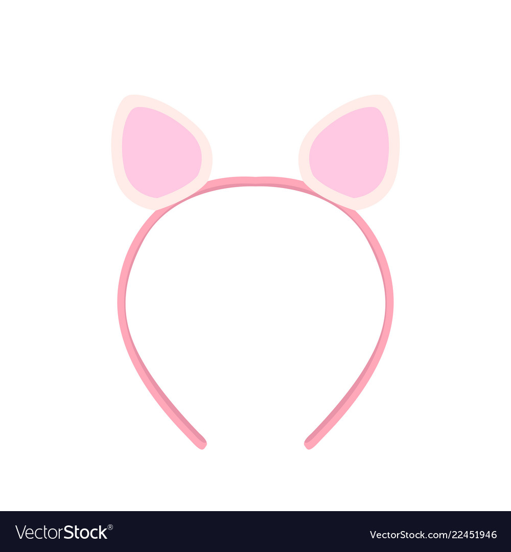 Isolated Headband With Rabbit Ears Royalty Free Vector Image