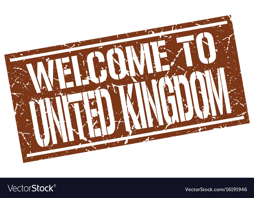 Welcome to united kingdom stamp