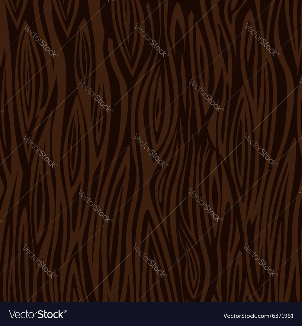 Wood texture background dark brown Royalty Free Vector