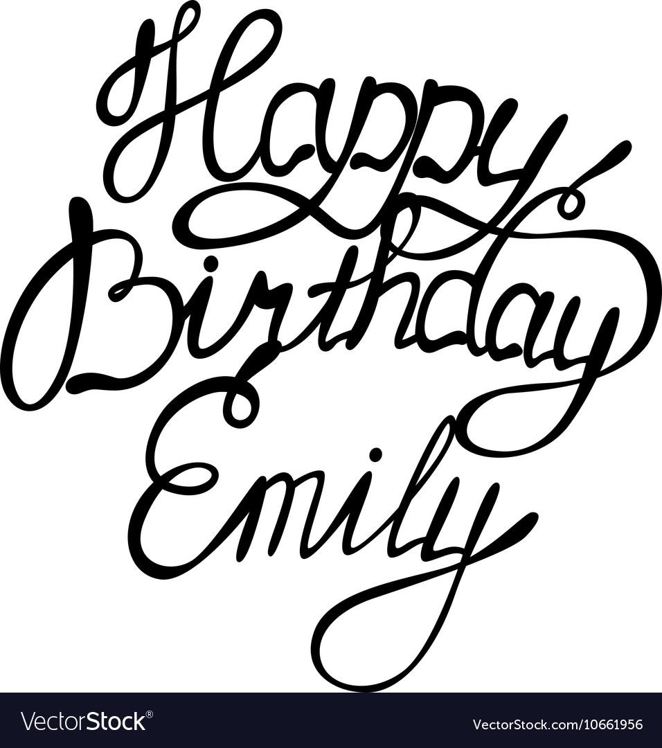 Happy Birthday Emily Images