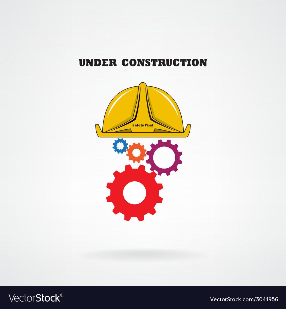 Under construction conceptual background