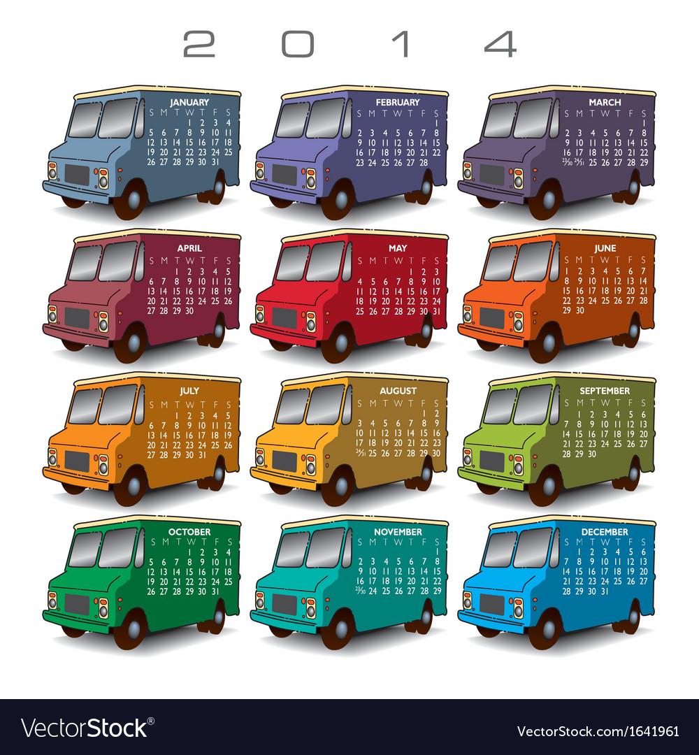 2014 Creative Truck Calendar