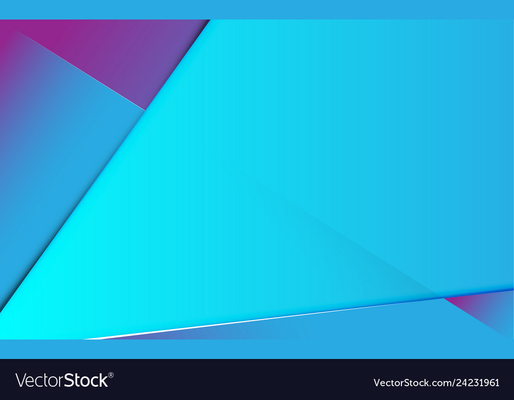 Abstract line gradient blue and purple background