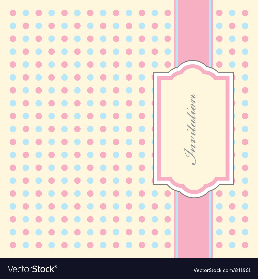 Dotty Invitation Pattern