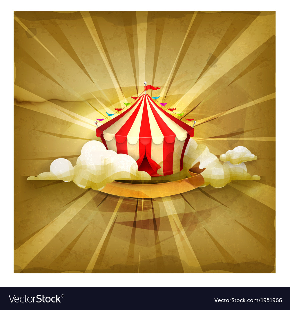 Circus old style background