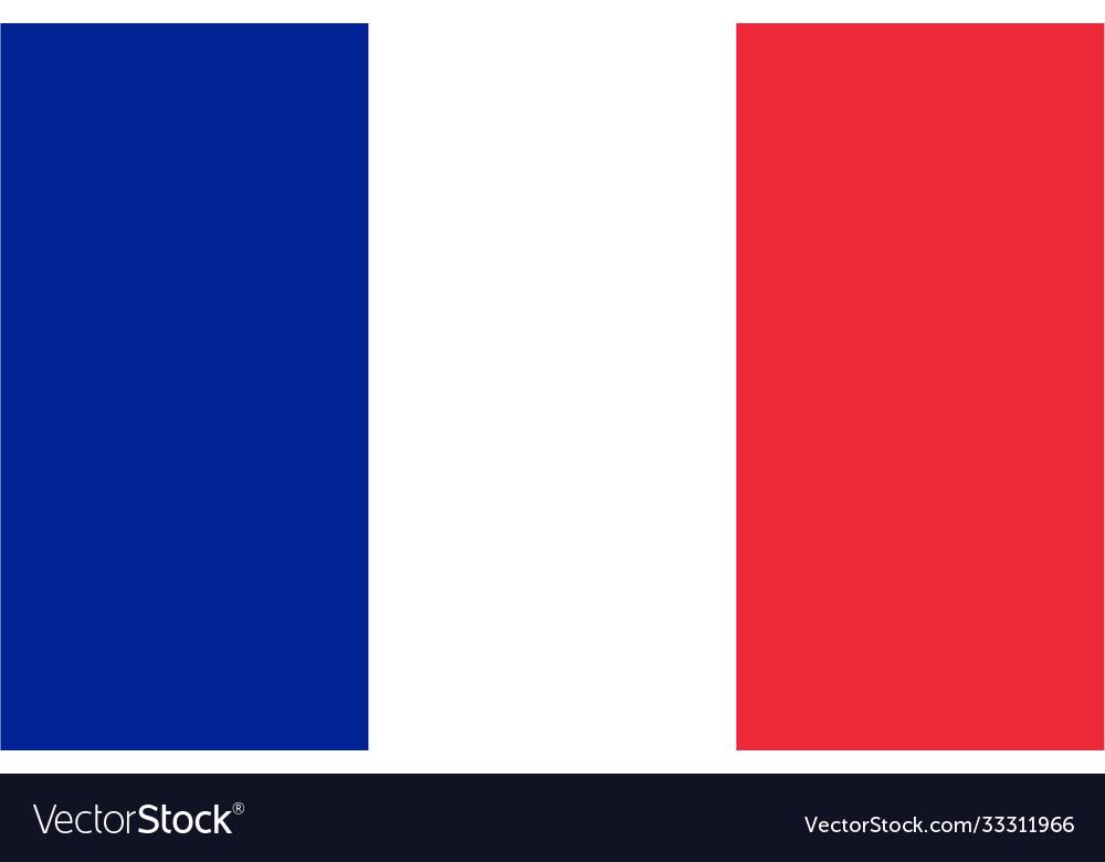 Flag france horizontal