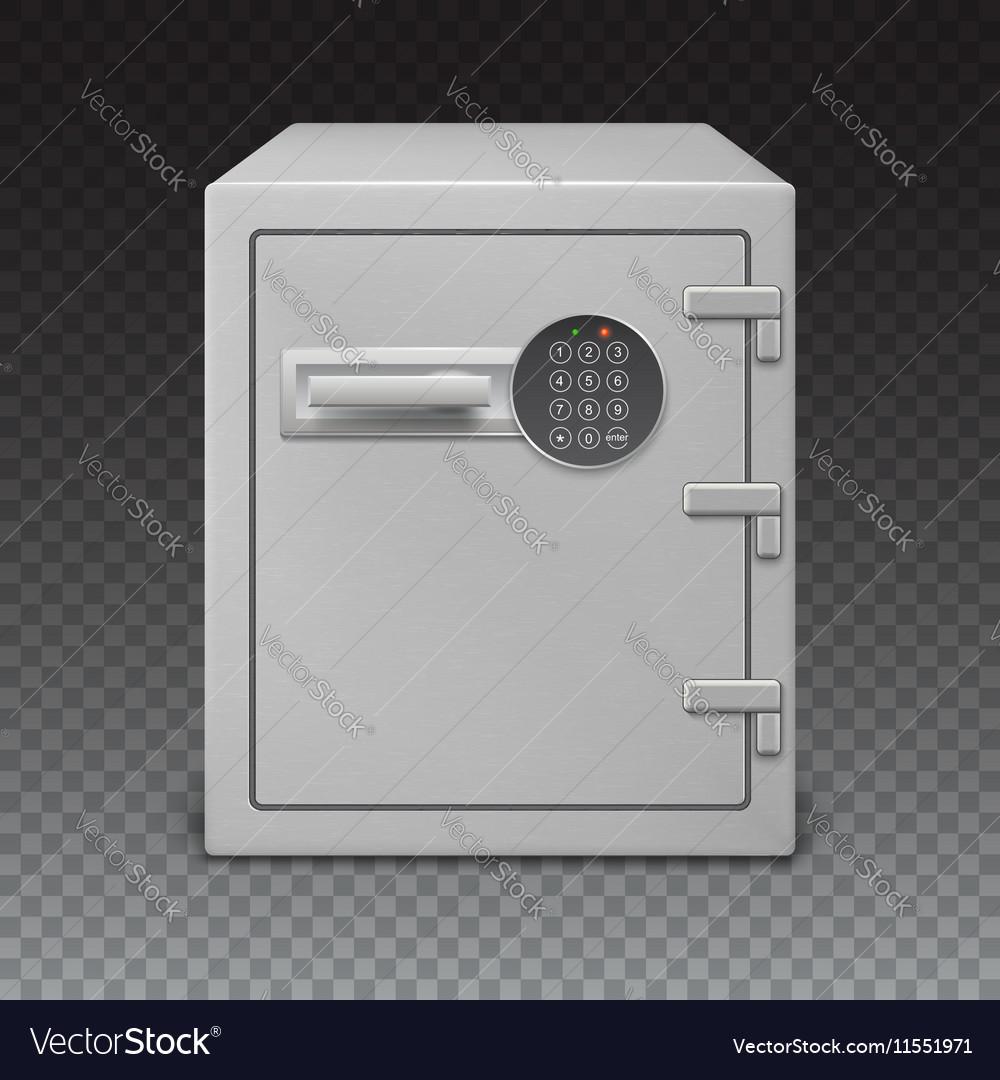 Safe with digital lock sophisticated details