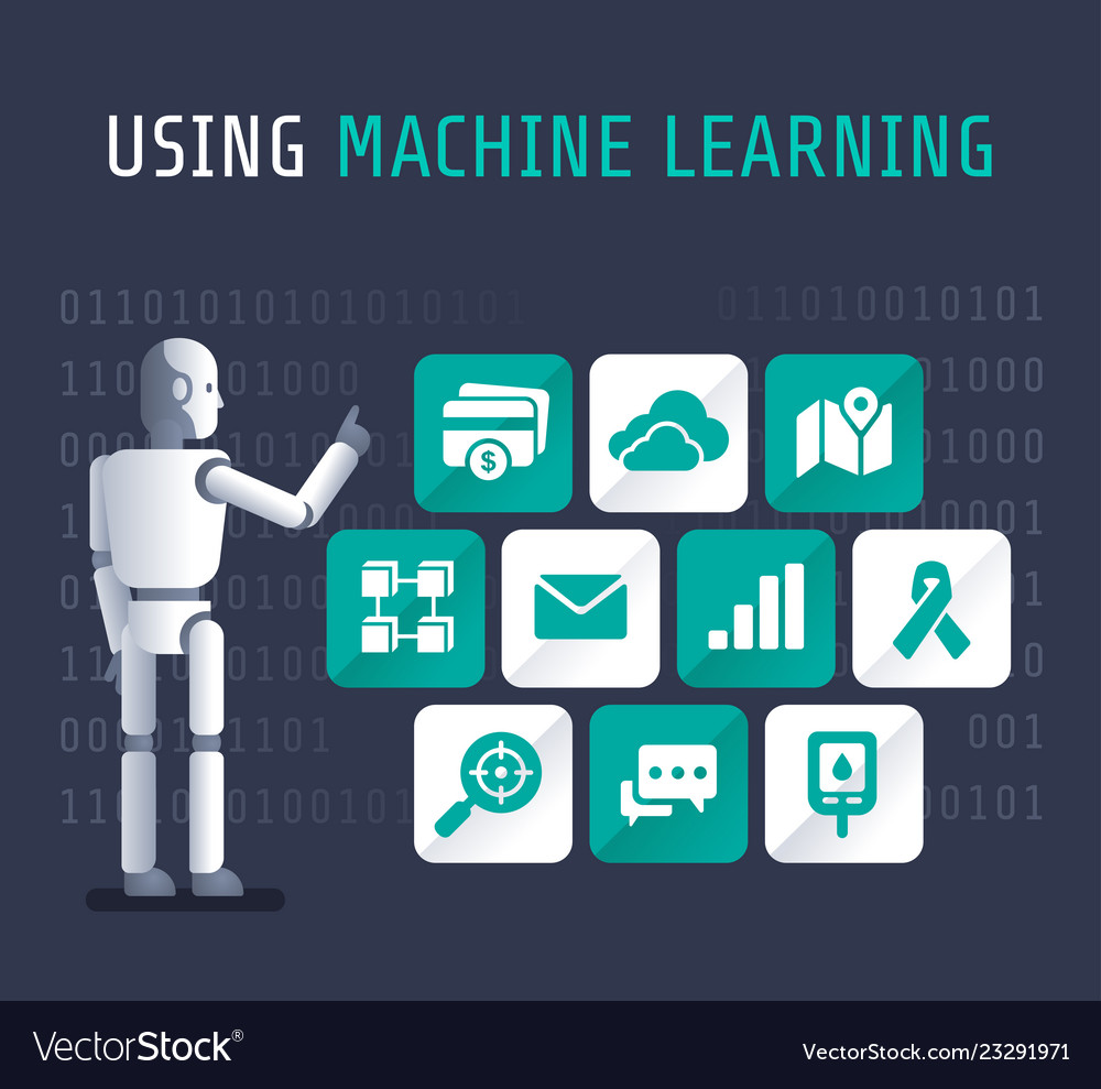 Using machine artificial learning flat