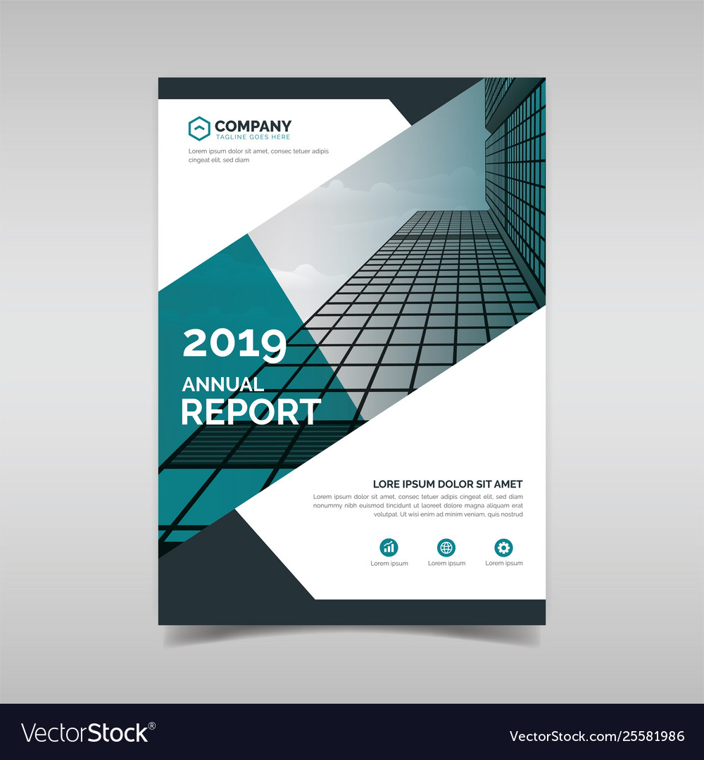 Annual Report Book Cover Template